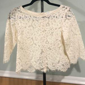 Club Monaco lace blouse